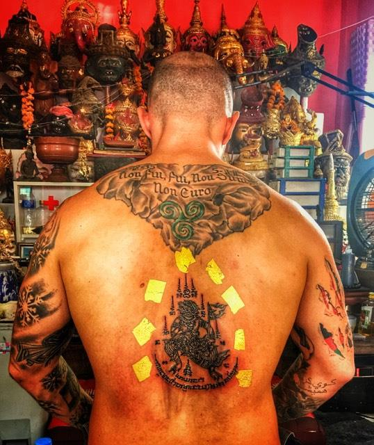 Ajarn Fu | Sak Yant Master, Thai Tattoo